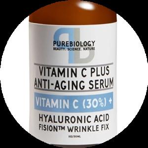 Purebiology Vitamin C Plus - No. 3 Best anti aging Serum