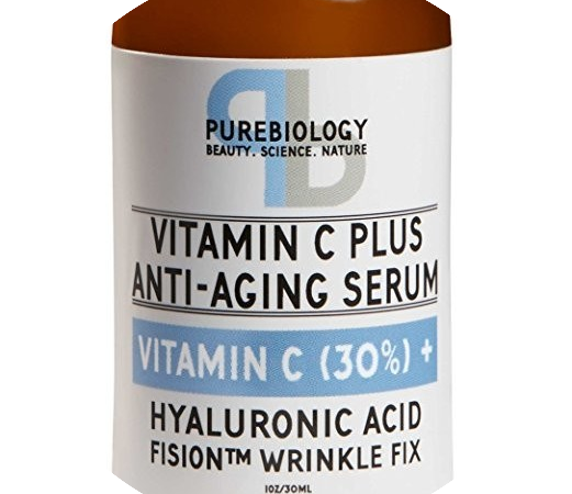Purebiology Vitamin C Plus - No. 3 Best anti aging Serum